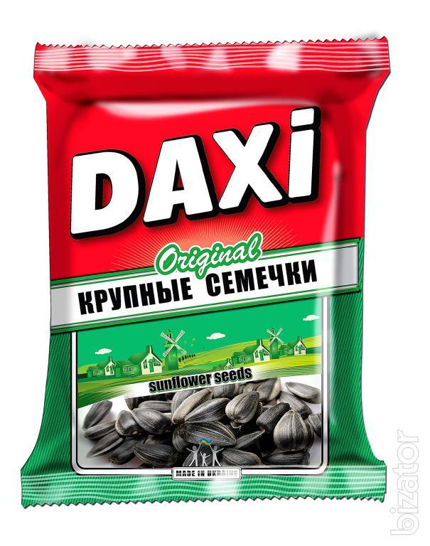 Жареные семечки ТМ Дакси