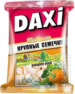 Тыквенные жареные семечки ТМ Дакси 50 г.