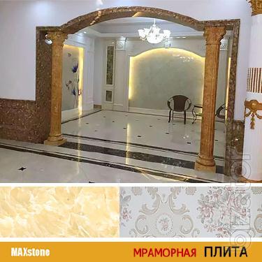Мраморная плита из ПВХ в Алматы