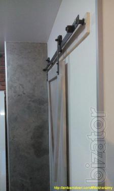 Амбарные механизмы на двери