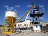 Zzbo compact-30 mobile concrete plant