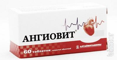 Продам Ангиовит таблетки 60 шт., Алтайвитамины ЗАО