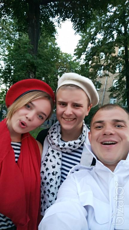 Ведучий, ді джей, жива музика, на Новий рік, корпоратив Київ