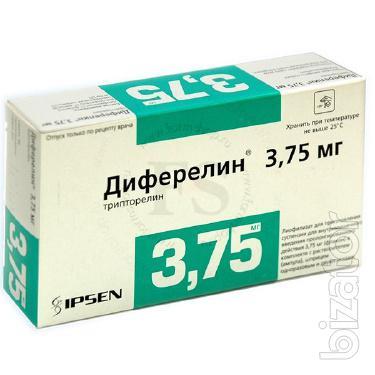 Продам Декапептил - трипторелин (диферелин) р-р д/ин. 3,75 мг шприц №1, Ферринг, Германия