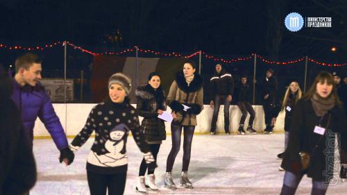 Волшебное признание: предложение руки и сердца зимой Одесса