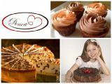 Маффины, капкейки, донатcы, берлинеры, торты от Desserts.com.ua