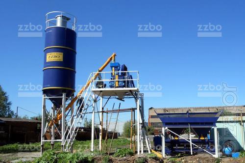 zzbo skip-15 Concrete Plant