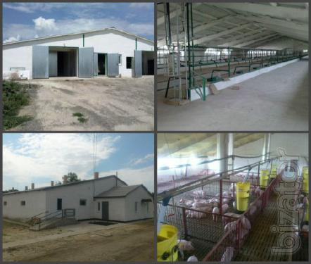 """Будівництво, реконструкція та повна комплектація об""""єктів сільського і промислового призначення"""