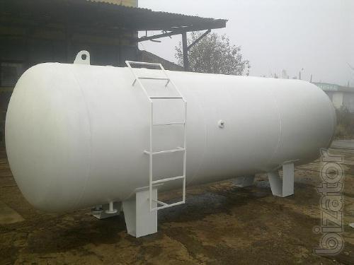 Емкость для сжиженного газа, пропана, СУГ, емкость газовая, резервуар