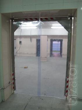 ПВХ завеса (ленточная силиконовая штора)