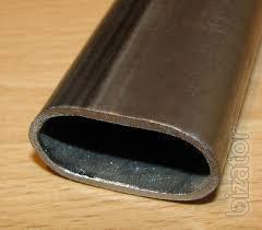Труба нержавеющая плоскоовальная 38х23х1,2