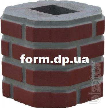 Форма для наборных столбов К-7
