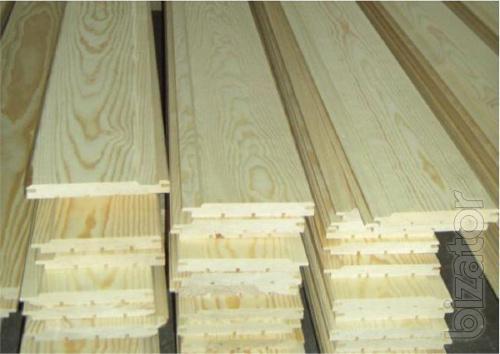 Вагонка з деревини сосни