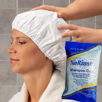 Waterless hygiene products for body care and hair care