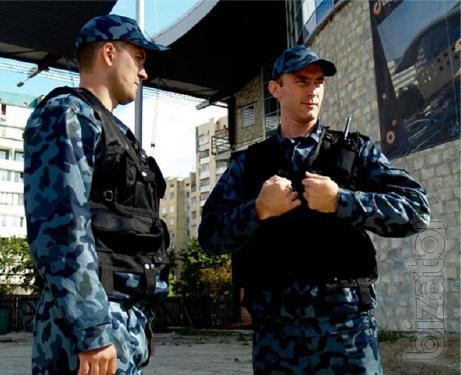 Оказание охранных услуг