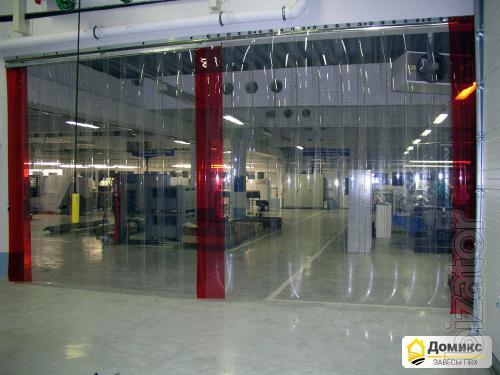 Завесы ПВХ для склада - сэкономьте 60% Ваших денег на энергосбережении!