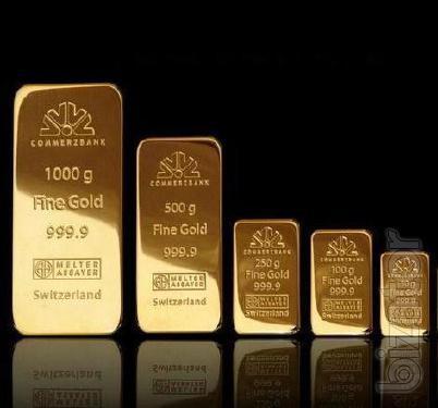Продадим золото 999,9 пробы в слитках от 50 грамм.