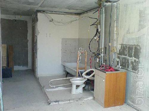 Демонтажные работы. Алмазная резка бетона