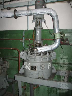 Реактор из нержавеющей стали, аппарат с мешалкой и  рубашкой
