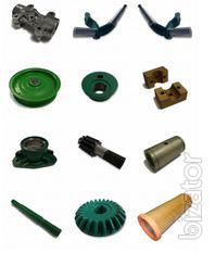 Spare parts for tractors and harvesters brand John Deere (John Deere)