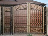 Кованные ворота под заказ
