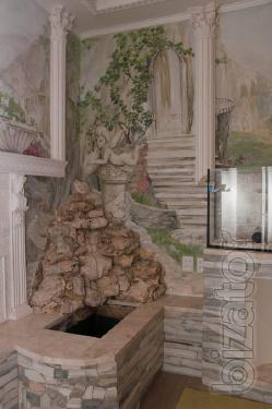 Художественная роспись стен в Харькове и области.