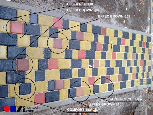 Высококачественные порошковые пигменты и добавки для изготовления бетона