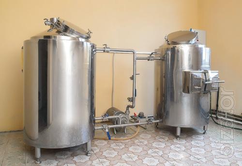 Мини-пивоварня 300, 500, 1000, 2000л