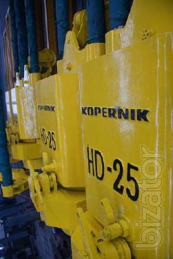 Diesel hammer rod for piles KOPERNIK HD-25