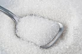 Sugar in bulk.