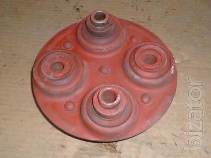 Головка кардана 74.36.001-1, А36-С2 (мягкое соединение) передачи карданной гусеничного трактора Т 74 ХТЗ.