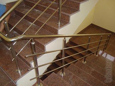 Railings, fences, handrails stainless steel