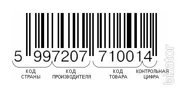Bar codes EAN-13 assignment and registration