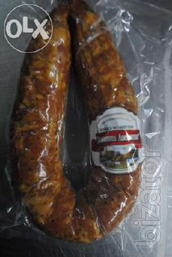 Sausage in bulk. From a manufacturer.