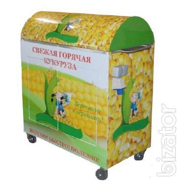 Продам б/у прилавки для горячей кукурузы