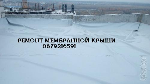 Монтаж мембраны ПВХ по Украине