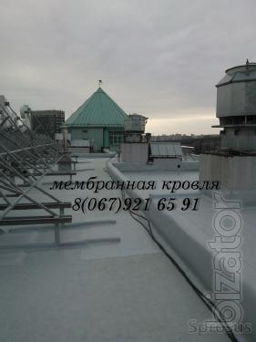 Устройство мембранной крыши