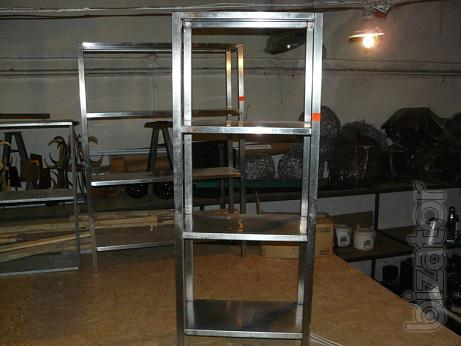 Sell the used rack stainless steel for kitchen