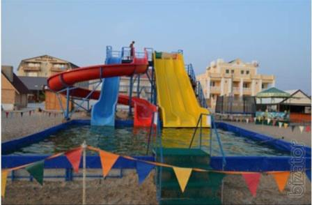 ride the stationary water Park