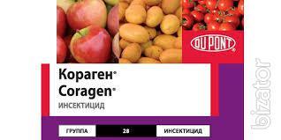 Insecticide Coragen 20%, K. S., Original Price 180$ l delivery across Ukraine.