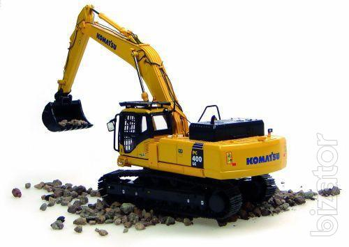 Service service Stroidetal performs maintenance, diagnostics and repair of special equipment Komatsu (Komatsu, Komatsu, Komatsu)