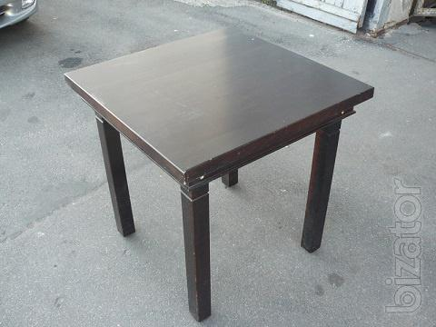 Sale wooden tables for cafe, bar, catering
