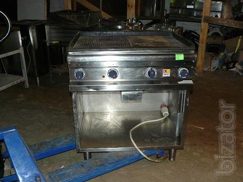 Sell used frying surface Kogast for public catering, cafes, restaurants