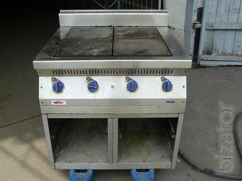 Will sell B.. plate Abat 4-burner for public catering, cafes, restaurants