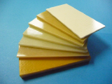 The fiberglass laminate of 1 mm