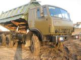 KAMAZ 4310 dump truck farmer but with a sleeping bag