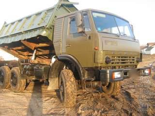 KAMAZ 4310 dump truck farmer but with a sleeping bag