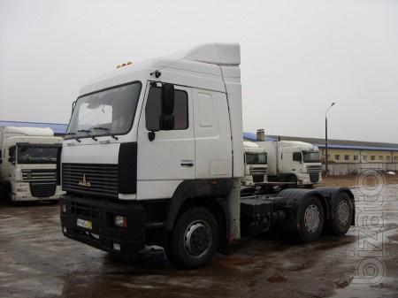 МАЗ   6422 седельный тягач