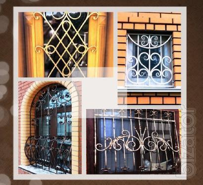 Решетки Киев, сварные, металлические, кованые.