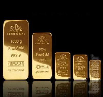 Sell gold of 999.9 fineness bullion from 50 grams............